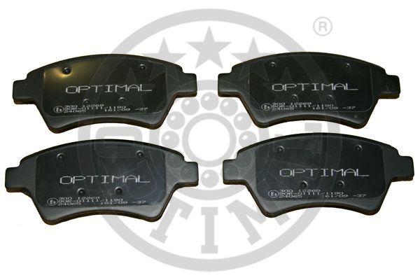 Kit de plaquettes de frein, frein à disque - OPTIMAL - 12269