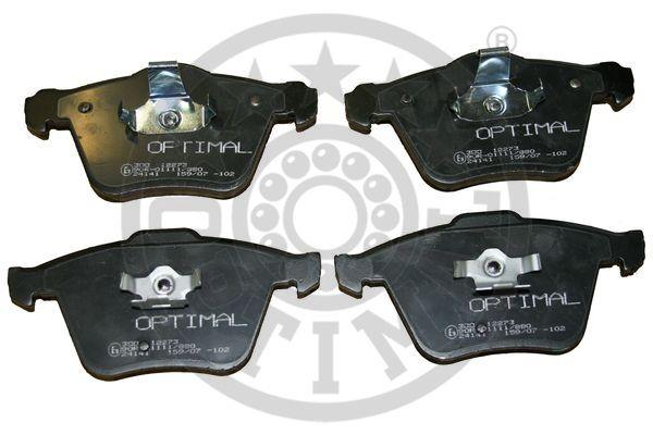 Kit de plaquettes de frein, frein à disque - OPTIMAL - 12273