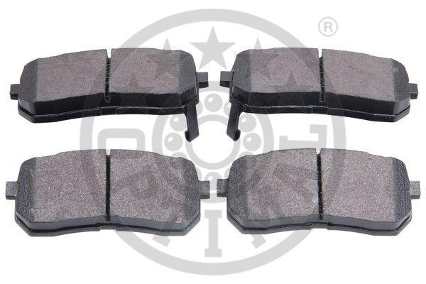 Kit de plaquettes de frein, frein à disque - OPTIMAL - 12282