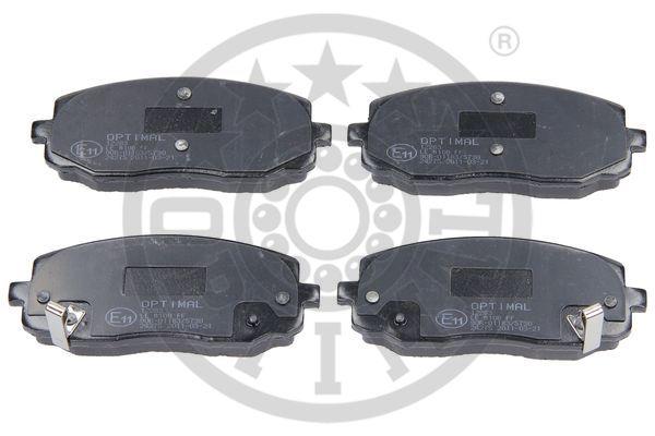 Kit de plaquettes de frein, frein à disque - OPTIMAL - 12283