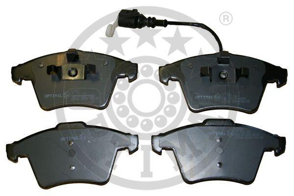 Kit de plaquettes de frein, frein à disque - OPTIMAL - 12290