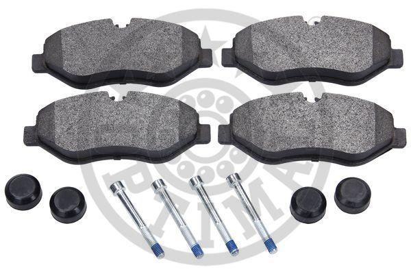 Kit de plaquettes de frein, frein à disque - OPTIMAL - 12297
