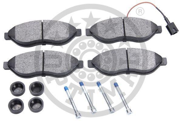 Kit de plaquettes de frein, frein à disque - OPTIMAL - 12299