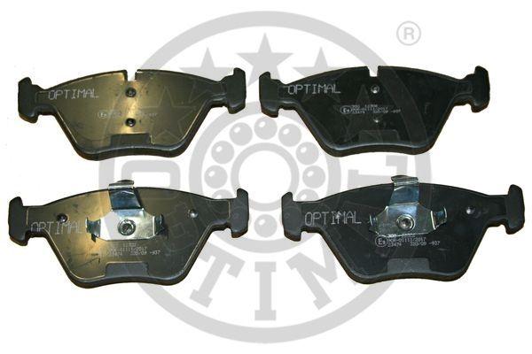 Kit de plaquettes de frein, frein à disque - OPTIMAL - 12306
