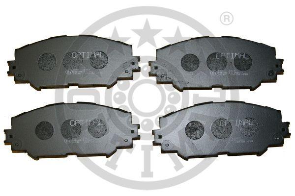 Kit de plaquettes de frein, frein à disque - OPTIMAL - 12310