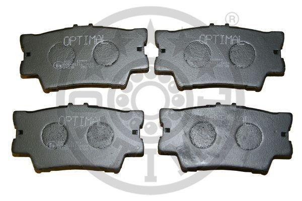 Kit de plaquettes de frein, frein à disque - OPTIMAL - 12311