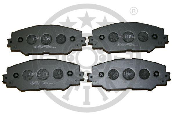 Kit de plaquettes de frein, frein à disque - OPTIMAL - 12312