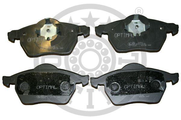 Kit de plaquettes de frein, frein à disque - OPTIMAL - 12316