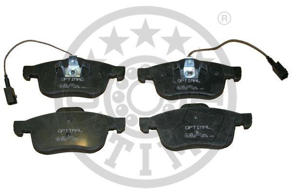 Kit de plaquettes de frein, frein à disque - OPTIMAL - 12319
