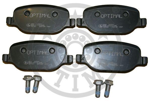 Kit de plaquettes de frein, frein à disque - OPTIMAL - 12320