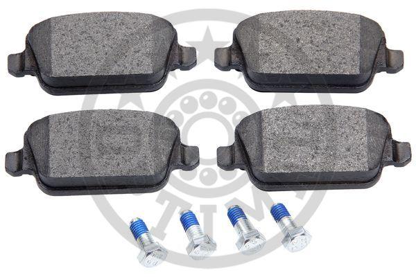 Kit de plaquettes de frein, frein à disque - OPTIMAL - 12322