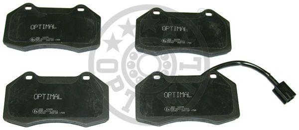 Kit de plaquettes de frein, frein à disque - OPTIMAL - 12335