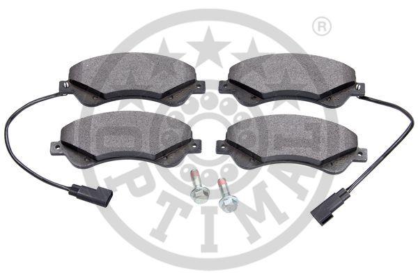 Kit de plaquettes de frein, frein à disque - OPTIMAL - 12338