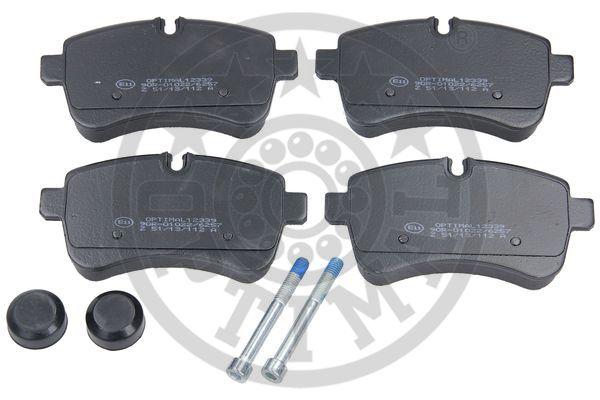 Kit de plaquettes de frein, frein à disque - OPTIMAL - 12339