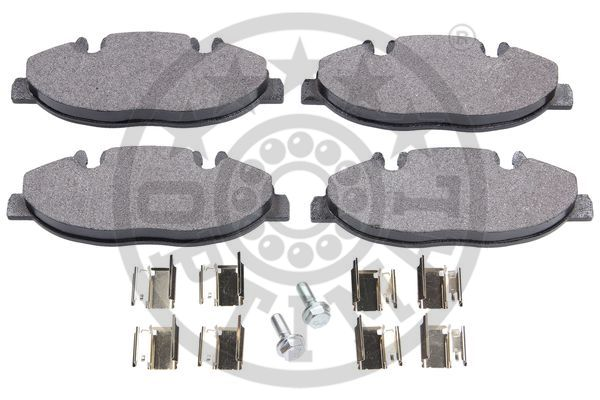 Kit de plaquettes de frein, frein à disque - OPTIMAL - 12341