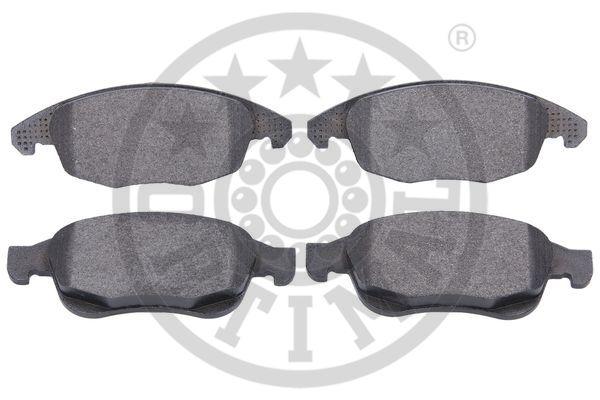 Kit de plaquettes de frein, frein à disque - OPTIMAL - 12342