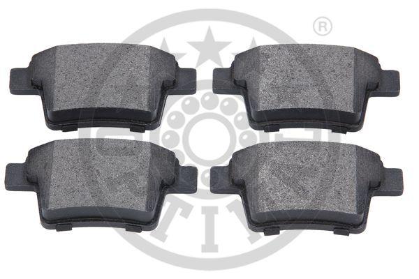 Kit de plaquettes de frein, frein à disque - OPTIMAL - 12350