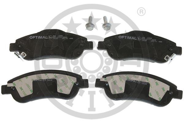 Kit de plaquettes de frein, frein à disque - OPTIMAL - 12368