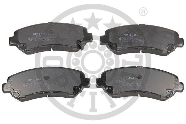 Kit de plaquettes de frein, frein à disque - OPTIMAL - 12372