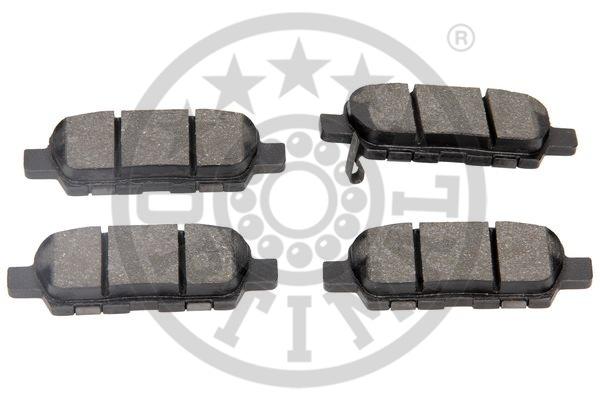 Kit de plaquettes de frein, frein à disque - OPTIMAL - 12373