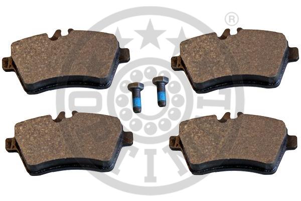 Kit de plaquettes de frein, frein à disque - OPTIMAL - 12385