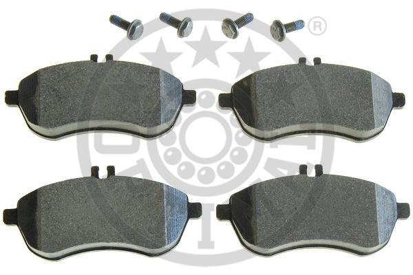 Kit de plaquettes de frein, frein à disque - OPTIMAL - 12387