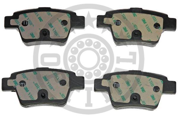 Kit de plaquettes de frein, frein à disque - OPTIMAL - 12391