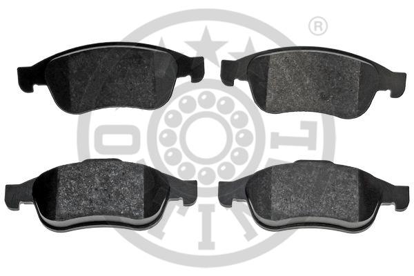 Kit de plaquettes de frein, frein à disque - OPTIMAL - 12392