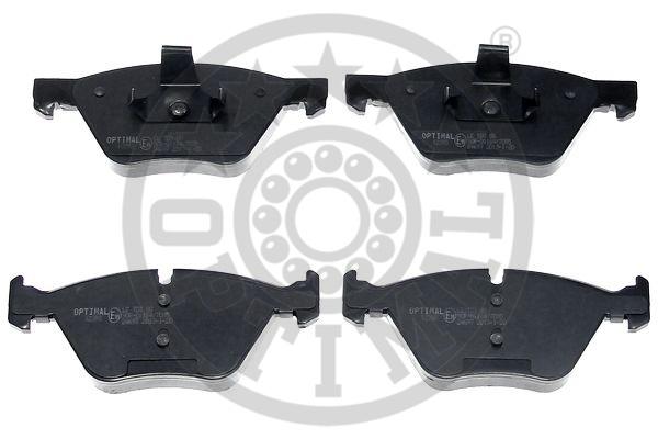 Kit de plaquettes de frein, frein à disque - OPTIMAL - 12393