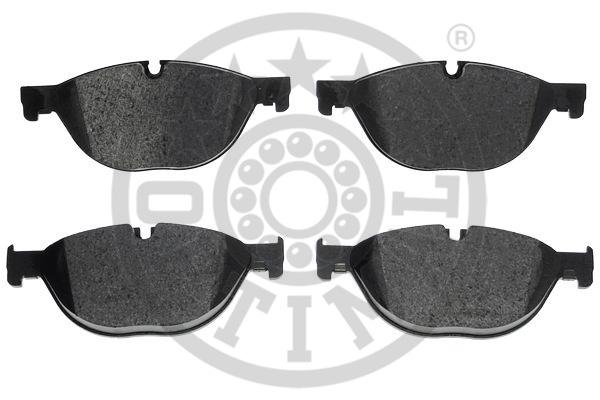 Kit de plaquettes de frein, frein à disque - OPTIMAL - 12395
