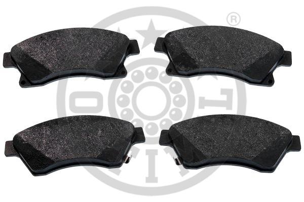 Kit de plaquettes de frein, frein à disque - OPTIMAL - 12399