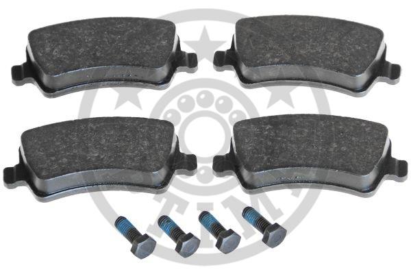 Kit de plaquettes de frein, frein à disque - OPTIMAL - 12401