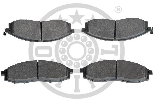 Kit de plaquettes de frein, frein à disque - OPTIMAL - 12402