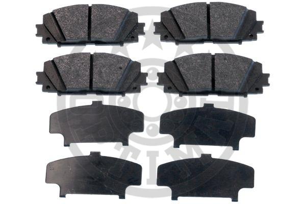 Kit de plaquettes de frein, frein à disque - OPTIMAL - 12403