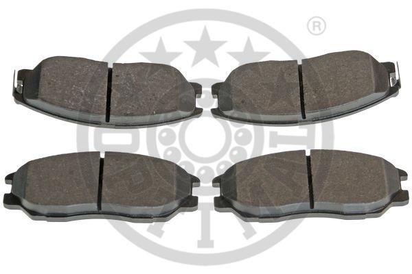 Kit de plaquettes de frein, frein à disque - OPTIMAL - 12410
