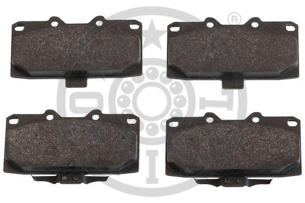 Kit de plaquettes de frein, frein à disque - OPTIMAL - 12411