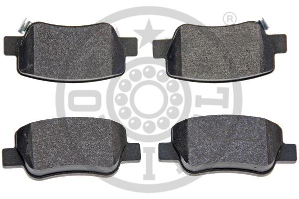 Kit de plaquettes de frein, frein à disque - OPTIMAL - 12414