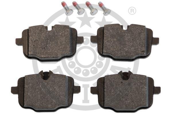Kit de plaquettes de frein, frein à disque - OPTIMAL - 12416