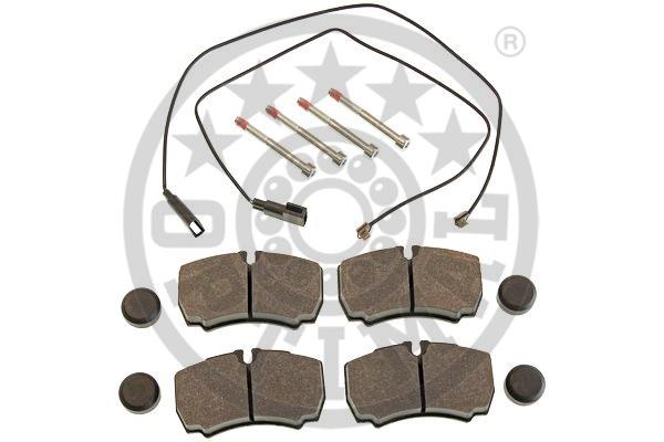 Kit de plaquettes de frein, frein à disque - OPTIMAL - 12418