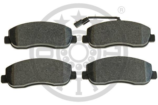 Kit de plaquettes de frein, frein à disque - OPTIMAL - 12419