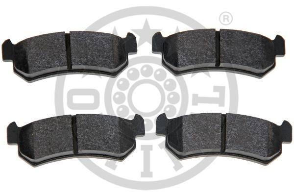 Kit de plaquettes de frein, frein à disque - OPTIMAL - 12420