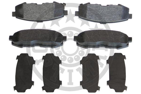 Kit de plaquettes de frein, frein à disque - OPTIMAL - 12421