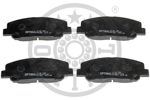 Kit de plaquettes de frein, frein à disque - OPTIMAL - 12425