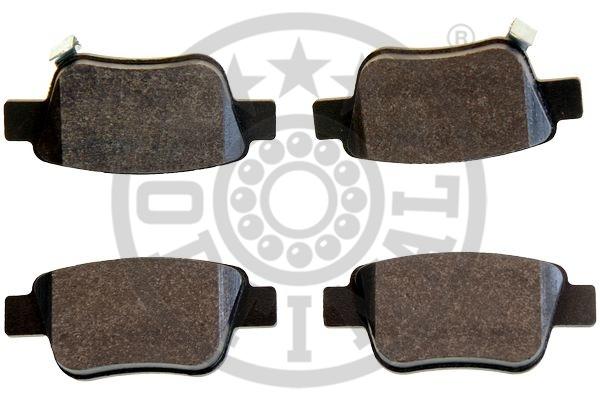 Kit de plaquettes de frein, frein à disque - OPTIMAL - 12429