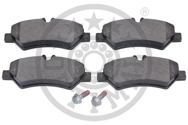 Kit de plaquettes de frein, frein à disque - OPTIMAL - 12430