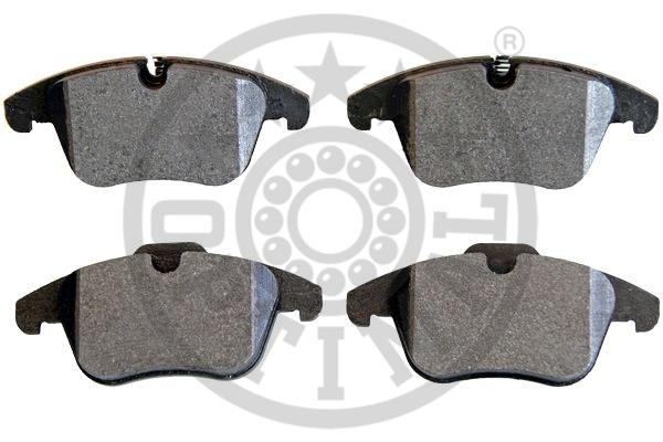 Kit de plaquettes de frein, frein à disque - OPTIMAL - 12432
