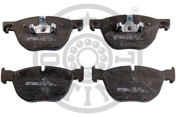 Kit de plaquettes de frein, frein à disque - OPTIMAL - 12434