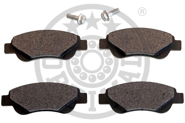 Kit de plaquettes de frein, frein à disque - OPTIMAL - 12438