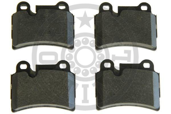 Kit de plaquettes de frein, frein à disque - OPTIMAL - 12441