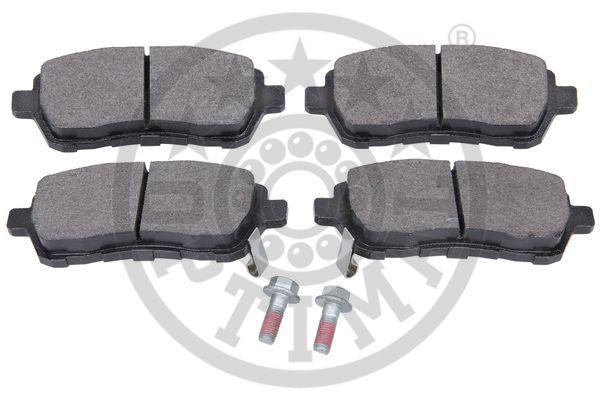 Kit de plaquettes de frein, frein à disque - OPTIMAL - 12447